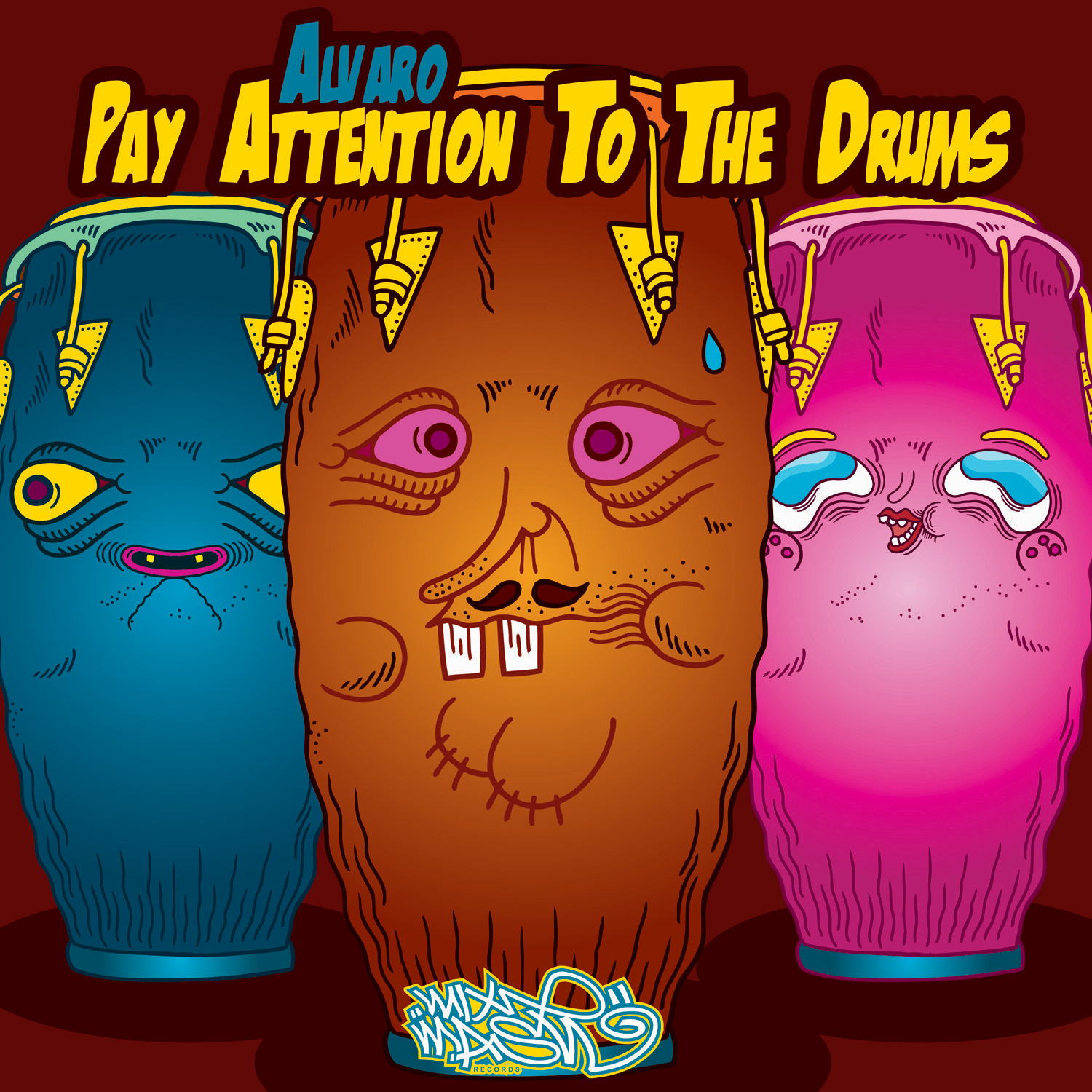 Alvaro's New Single Pay Attention To The Drums Soon On Mixmash Records