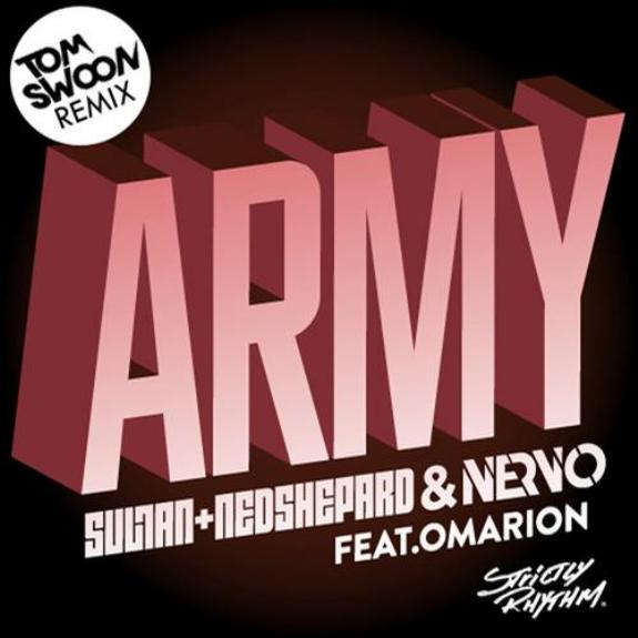 "Tom Swoon Remixes ""Army"" On Strictly Rhythm Records"