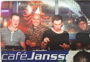 Hardwell Spins New Track On Ruben Fernhout Birthday At Cafe Janssen