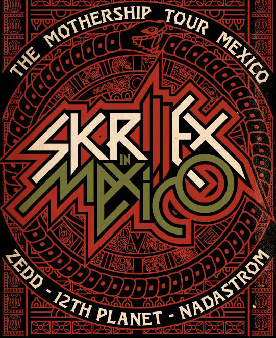 Skrillex Mothership Tour Mexico Recap Video