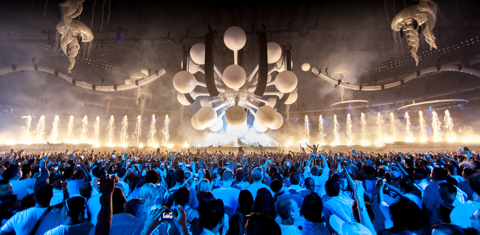 Sensation Presents First U.S. Tour The Ocean Of White