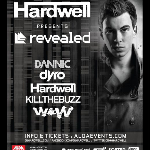 Hardwell Presents Revealed ADE Edition at the Passenger Terminal Amsterdam Incl. Dannic, W&W, Dyro & Kill The Buzz