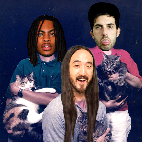 Paintballing With Steve Aoki, Waka Flocka, And Borgore!