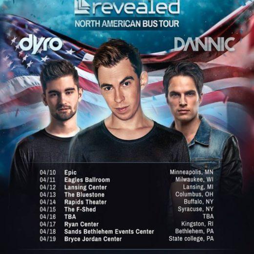 Revealed Tour