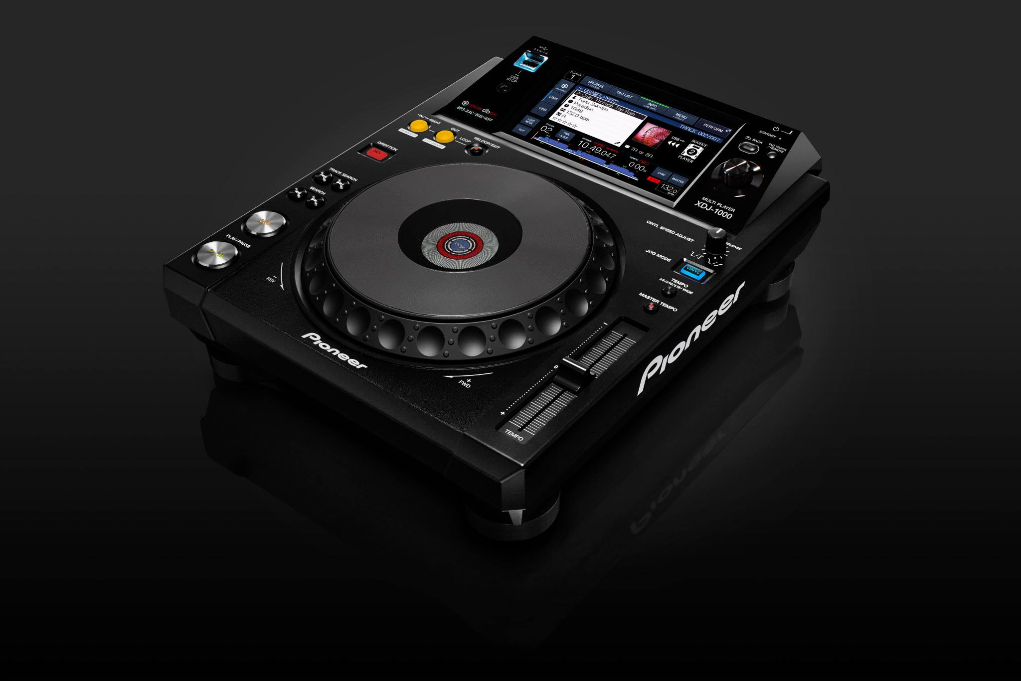 Pioneer Introduces First CD-less CDJ